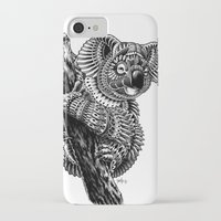 ornate iPhone & iPod Cases featuring Ornate Koala by BIOWORKZ