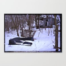 To Your Right Canvas Print