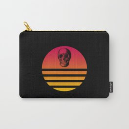Retro Skull 5 Carry-All Pouch