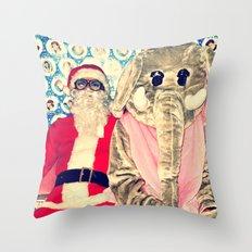 Awkward Couple Throw Pillow