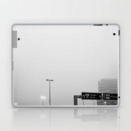 Reykjavík in the mist 2 Laptop & iPad Skin