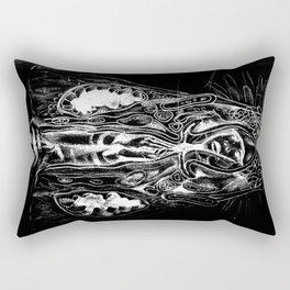 Black. Fly. Maria. Rectangular Pillow