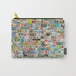 The Soccer Stamp Carry-All Pouch