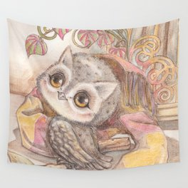 Baby Owl Wall Tapestry