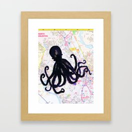 octomap Framed Art Print