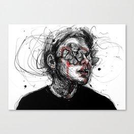 Deep wounds Canvas Print