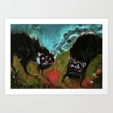 These guys Art Print