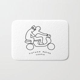 Vietnam racing couple Bath Mat