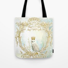 Owl Let it Snow Tote Bag