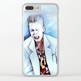 David Bowie as Agent Jeffries Clear iPhone Case