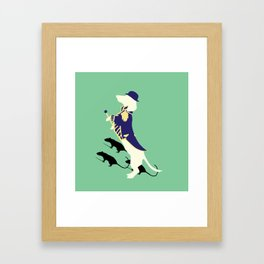 Captain BarktholomewCaptain Framed Art Print