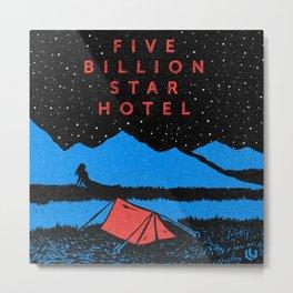 Star Hotel Metal Print