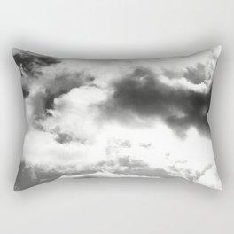 DARK CLOUDS TOUCHING #1 #art #society6 Rectangular Pillow