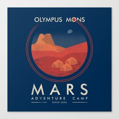 Mars Camp Canvas Print