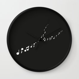sounds of the night Wall Clock