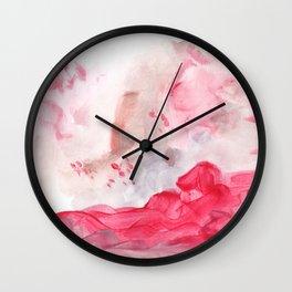 Strawberry paradise Wall Clock