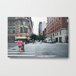 Morning in Manhattan Part II Metal Print