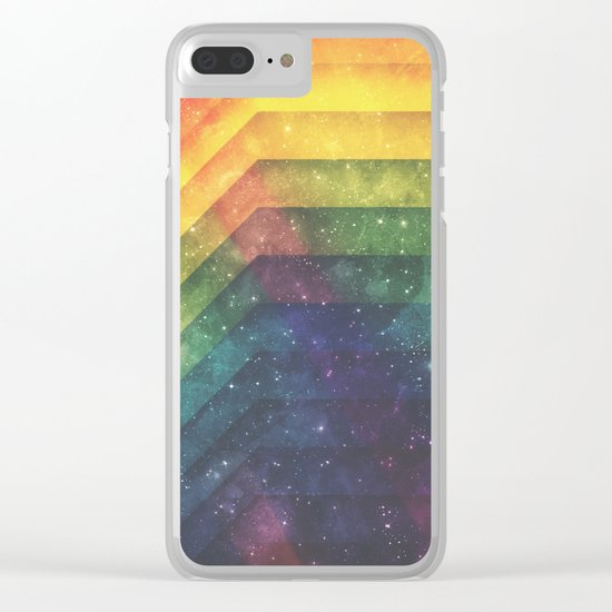 Time & Space Clear iPhone Case