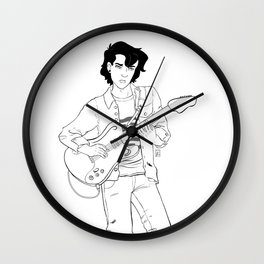 musician Nico Wall Clock