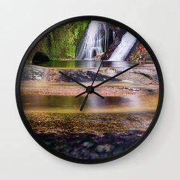 Widows Creek Falls 7 Wall Clock