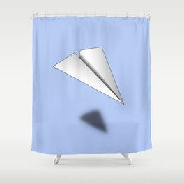 Paper Airplane 12 Shower Curtain