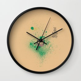 Rodeos • Kidding • Sketch  Wall Clock