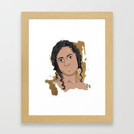 Gwen   Queen Framed Art Print