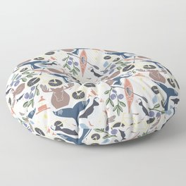 Acadia Pattern 1 Floor Pillow