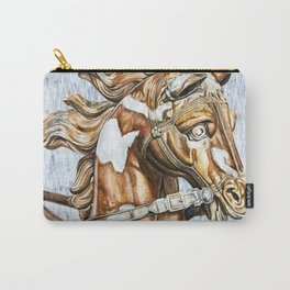 Apollo Rising Fountain Horse Carry-All Pouch