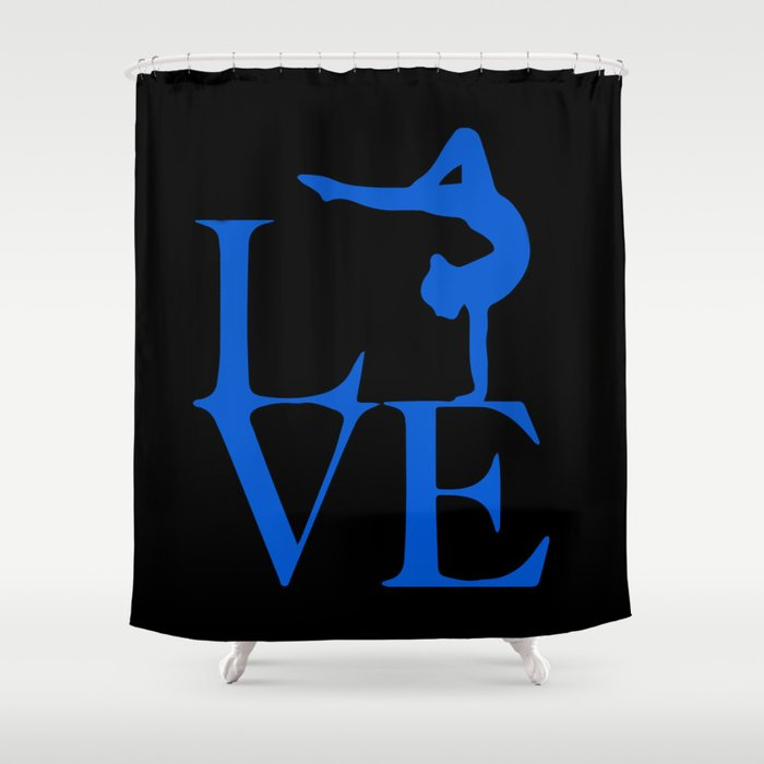 Gymnast Love Shower Curtain by ampedboutique | Society6
