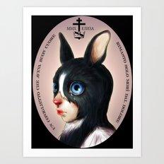 The Last Bunny  Art Print