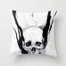DEATH COOCH Throw Pillow