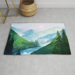 Mountain River Rug
