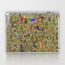 William's Hooping Birds Laptop & iPad Skin