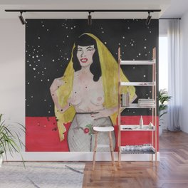 Bettie P Wall Mural