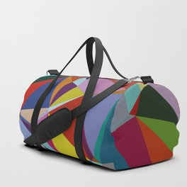 Geometric Abstract Art Pattern Nine Duffle Bag