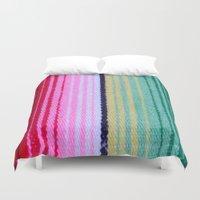 blanket Duvet Covers featuring Blanket by John Lyman Photos