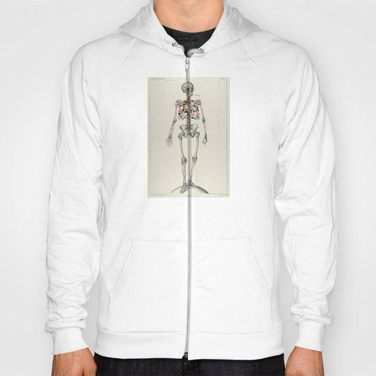 Skeletons Smoking Hoody