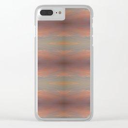 Strawberry Milk Splash Clear iPhone Case