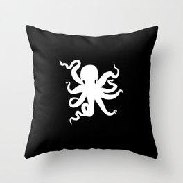 Little Octopus Throw Pillow
