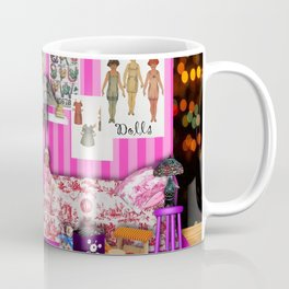 The room of a nice little girl Coffee Mug