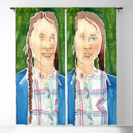 Greta Thunberg Blackout Curtain