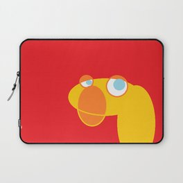 Disappointed Sock Monkey Laptop Sleeve