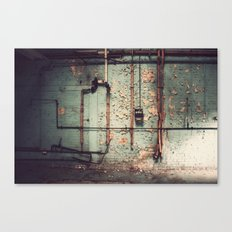 The Forgotten Wall  Canvas Print