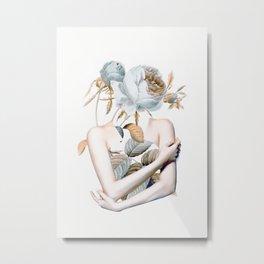 Inner beauty-collage 2 Metal Print