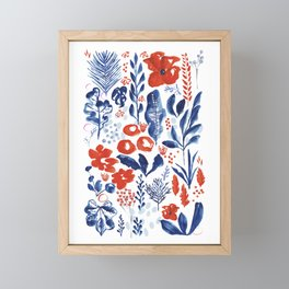 Figment Fields  Framed Mini Art Print