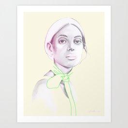 Woman 08 Art Print