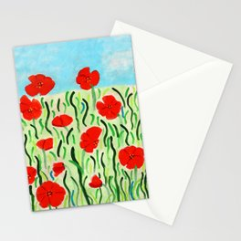 Everything's Popping Up Poppies! Stationery Cards