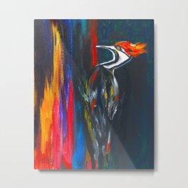Fire Bird (Pileated Woodpecker) Metal Print