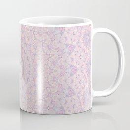 Pastel Lilac and Pink Mosaic Coffee Mug